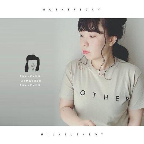 【OTONA Tシャツ】 M O T H E R