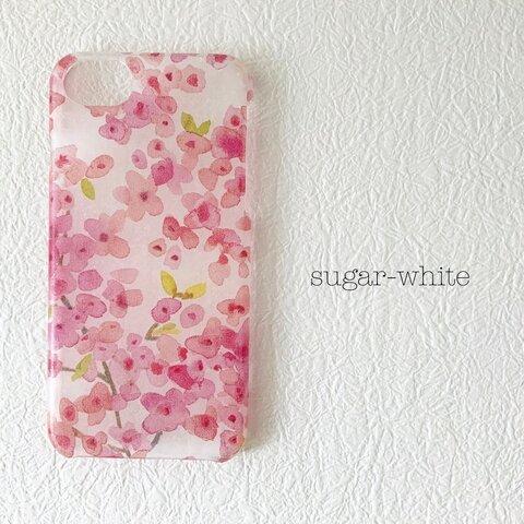 iPhone ケース ❤︎ Cherry Blossoms