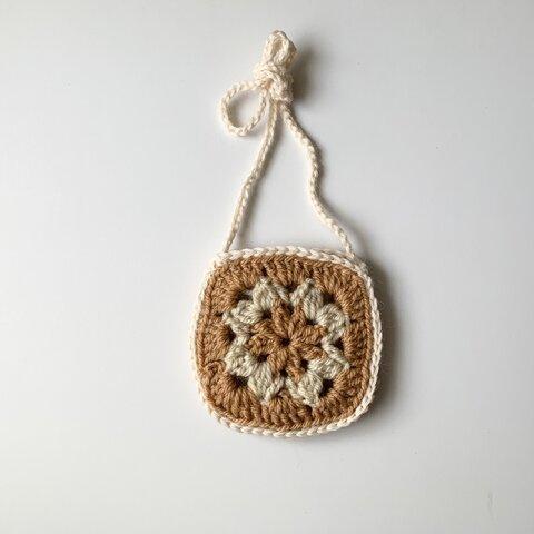 piping knit pochette (今だけ送料無料)