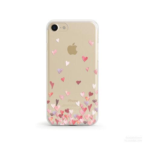 【人気商品】【名入れ可】All The Love in The World クリアソフト ケース  [ iPhone5~iPhone13/ 13 Pro/ 13 Pro Max & Samsung ]