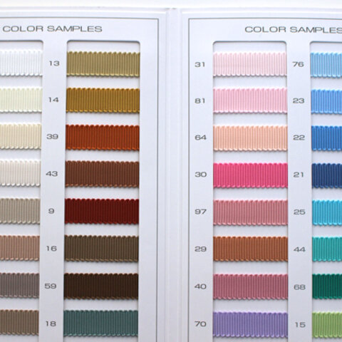【8幅/66色】MOKUBA 8900 グログラン/15m巻き MOKUBAリボン