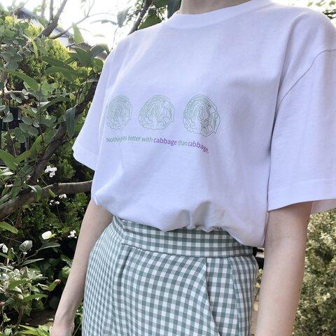 ◎送料無料 キャベツ半袖Tシャツ【受注生産】