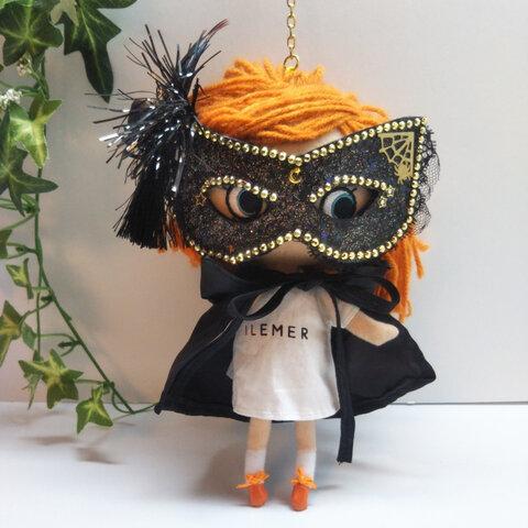 ゴールドストーンのマスカレードマスク&ドラキュラマント(ショート丈) イーマリーちゃん