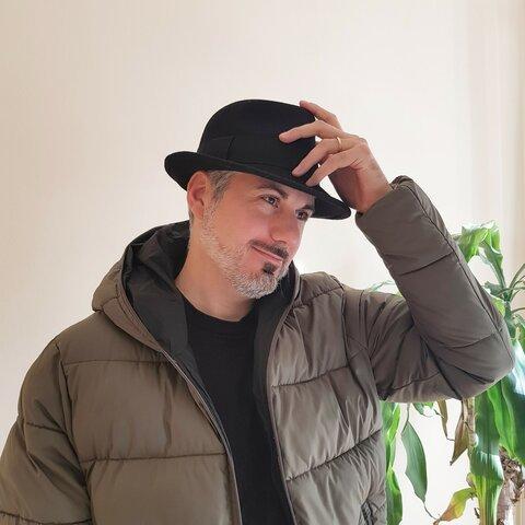 【受注制作】Felt wool Hat (フェルトHat)