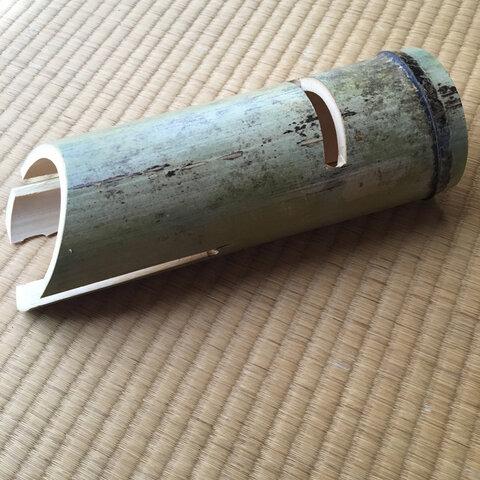 竹スピーカー