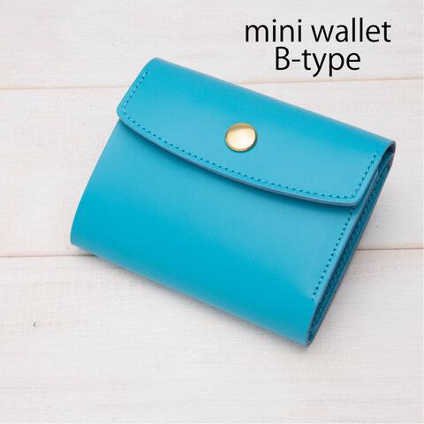 本革の小さいお財布 シンプルでお洒落なレザーミニ財布 レザー本革 財布 レザーミニウォレット コンパクト財布