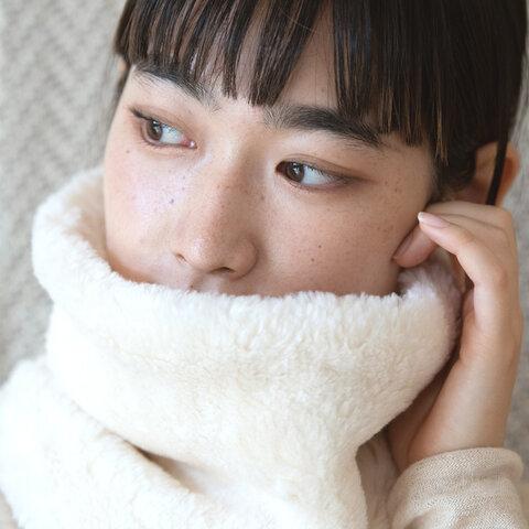 Organic Cotton Fur ふわふわネックウォーマー【Bigサイズ】