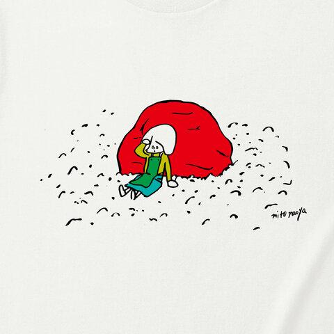休息の日の丸弁当Tシャツ