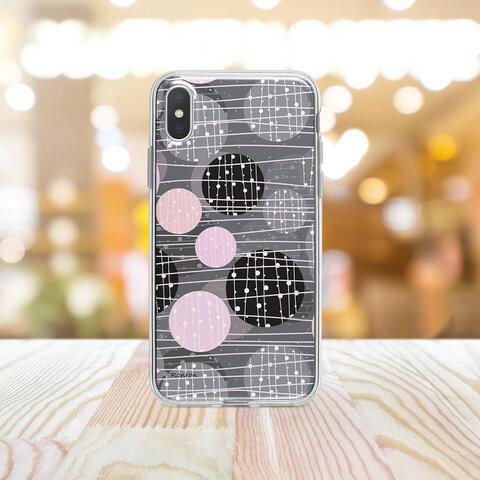 ボンボン グレー Apple iPhoneケース androidケース ハードケース  vehi250