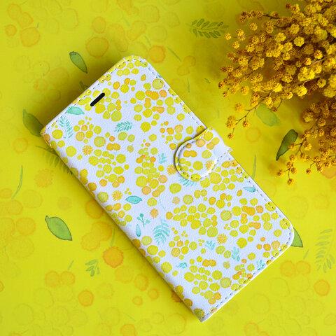mimosa iphone手帳型ケース