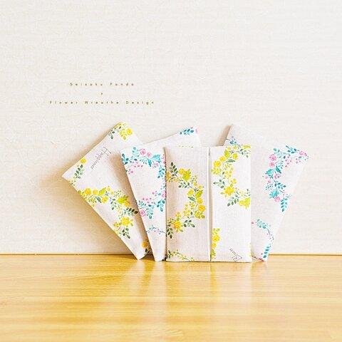 ・. ティッシュケース Flower 花柄 design .・.  #ギフト #大人