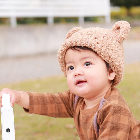 ♡Be teddy bears cap♡くまさんʕ•ᴥ•ʔ くまみみ  帽子 くま ベビー