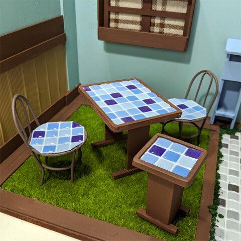 ミニチュア♡ガーデンテーブルセット