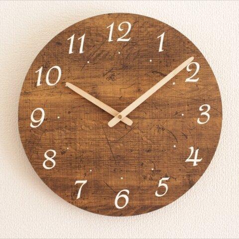 アンティーク風掛け時計Aタイプ 直径約30㎝ 受注製作