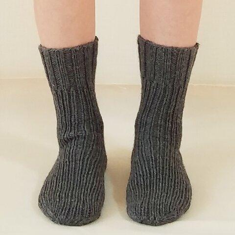 左右対称な靴下 24~27センチ前後対応