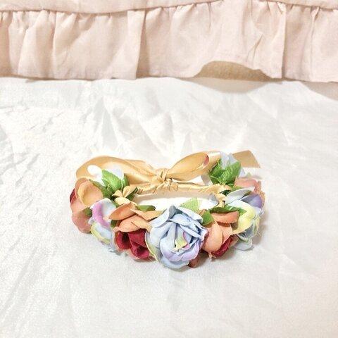 うさぎさん花冠【カラフル】