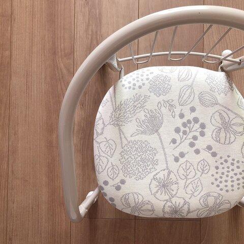 豆椅子 ベビーチェア 出産祝い ハーフバースデー 名入れ『プランツホワイト』
