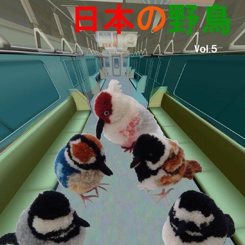 ぽんぽんで作る日本の野鳥シリーズvol.5