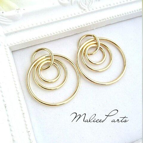 【2377】4個design ring charm