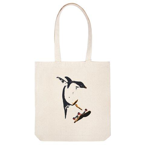 [トートバッグ] SK8 Penguin