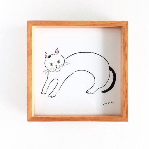 アートボード 「ぼくんち猫」127×127mm