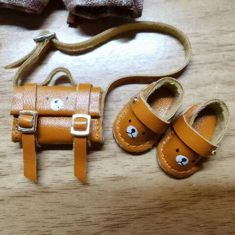 【オビツ11】オビツ11靴&バッグドール用カバン