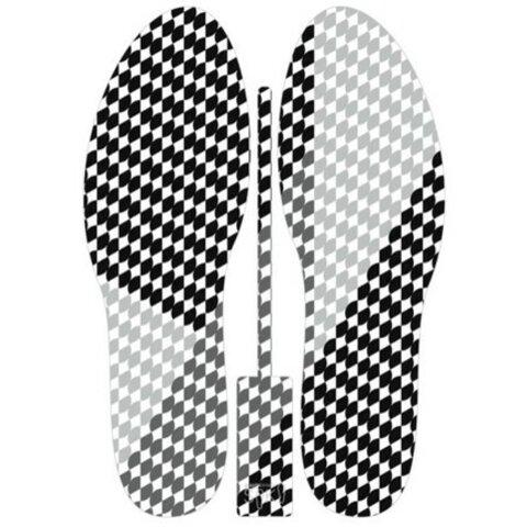 SOKO 中敷・インソール(KIMONO-ICHIMATSU)ブラック