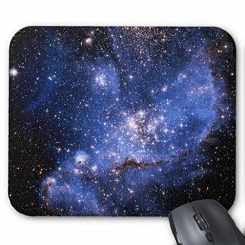 小マゼラン星雲のマウスパッド:フォトパッド(宇宙シリーズ) (トリミング-C)