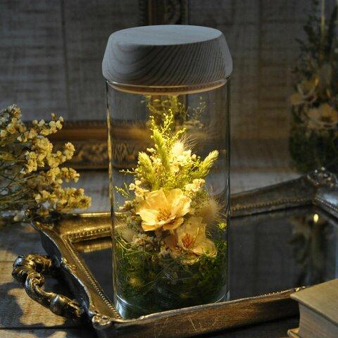 【 bright green 】✽優しくお花を照らす✽心安らぐ lamp flower S size
