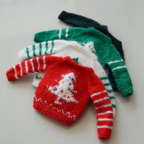 【オビツ11】クリスマスニットセーターブライス