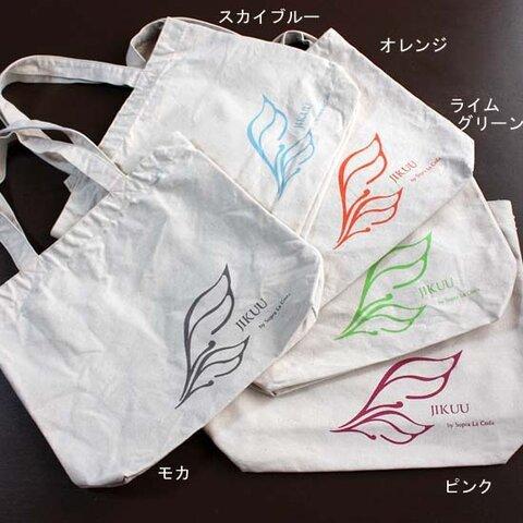 【JIKUU】キャンバストートバッグ『2枚羽』ナチュラル