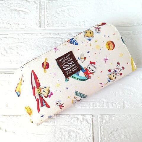 可愛い♥軽い長財布🖤猫♩ねこ♩かわいい♪財布♪通帳ケース♬