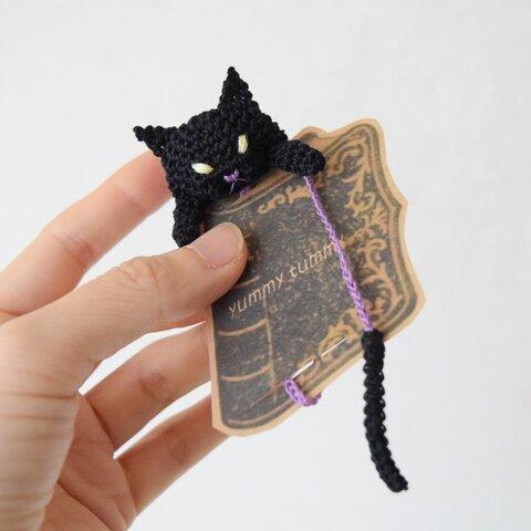 ブックマーク☆覗く黒猫
