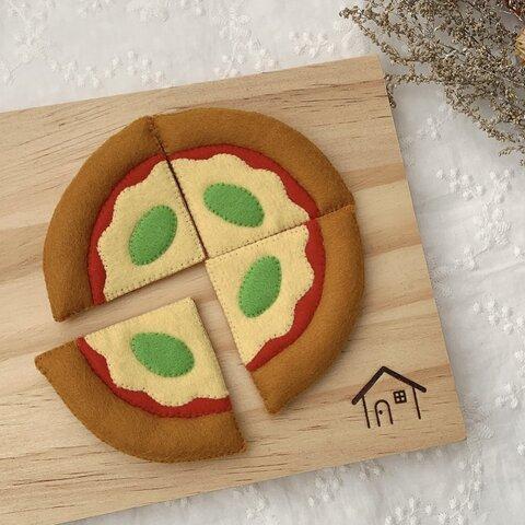 フェルトままごと ピザ