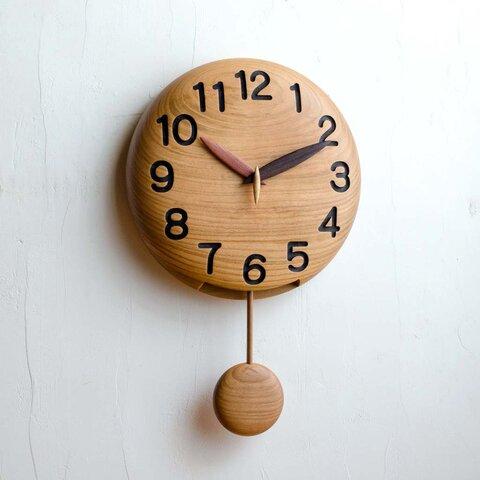 ~手作り木製振り子時計~(25cm)