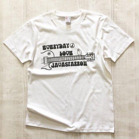 文鳥Tシャツ  「ウッドストック文鳥Vol.2」 【受注生産】
