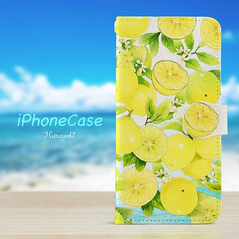 ベルガモットマリンの スマホケース 手帳型 iPhone XPERIA GALAXY AQUOS HUAWEI ケース 全機種対応