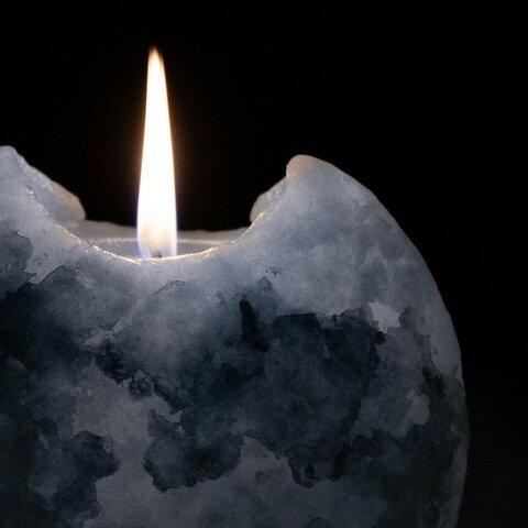 月齢【mini】―blue moon―キャンドル