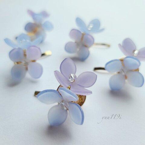 *紫陽花のポニーフック*