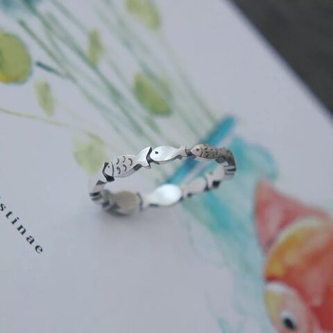 silver ring   S925【R-58】