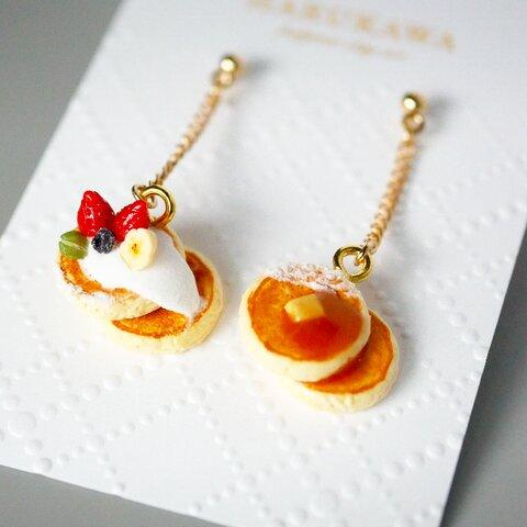11/15まで70%0FF【耳飾りorミニチュア】苺のパンケーキ
