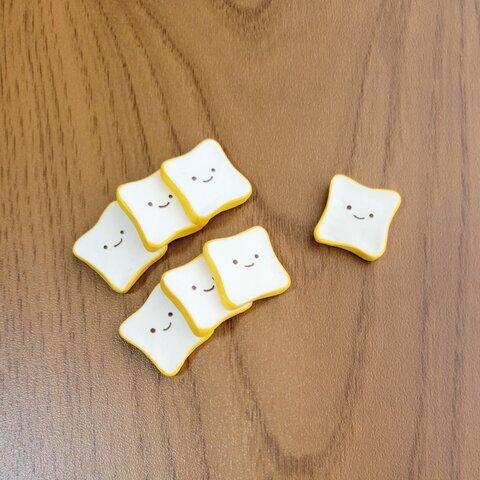 7個セット ミニチュア 食パン