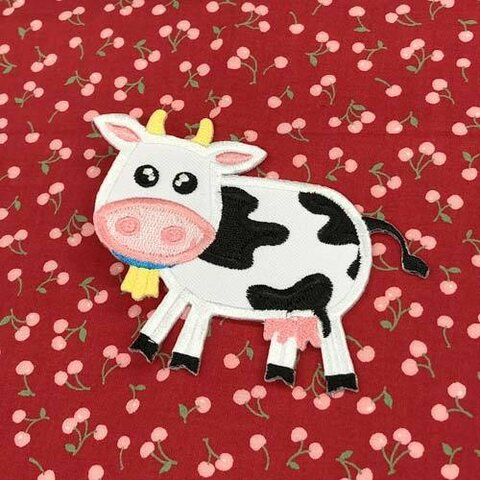 うし【大きい】 アップリケ (PM-Cow)