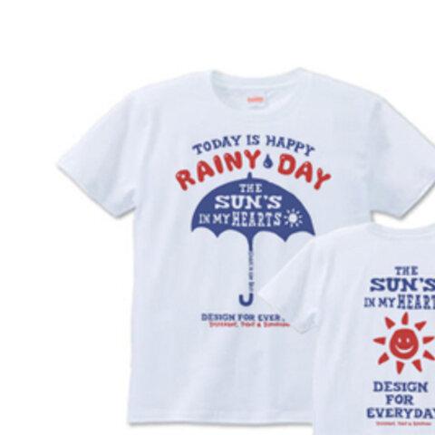 【再販】アンブレラ(傘)~happy rainy day~ S~XL Tシャツ【受注生産品】