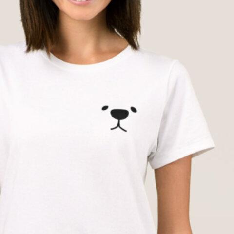 いぬ イラスト Tシャツ