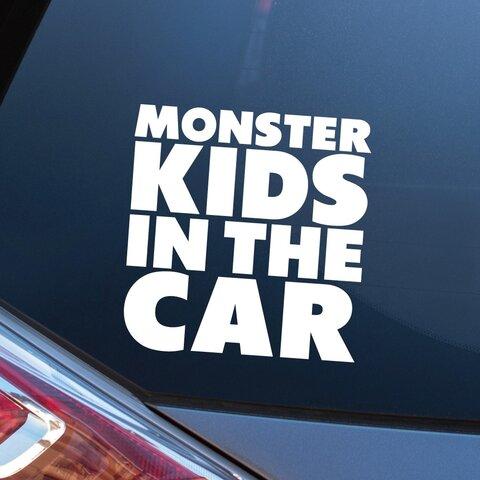 文字2 KIDS IN CAR キッズインカー ステッカー シール カーステッカー カーサイン おしゃれ かわいい カッティング 車 子供 チャイルド ベビー ギフト 500円 送料無料