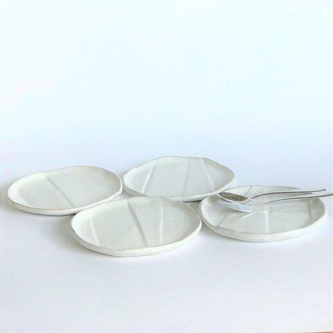 白い丸小皿 2枚セット