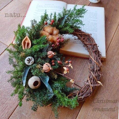 早割Christmas ornamentクリスマスリース
