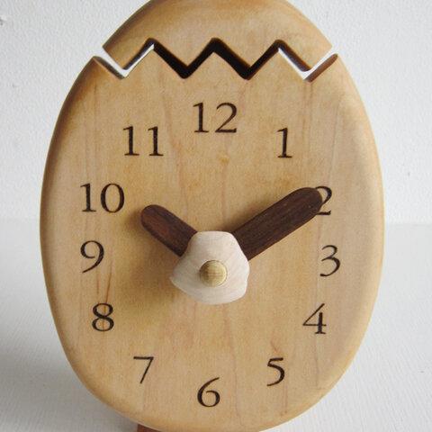 目玉焼き 置・掛け時計
