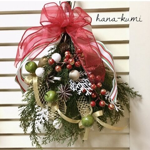 🎄➰🌶スワッグ*クリスマス
